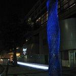 Art object at Tokyo Midtown