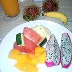fruit at breakfast