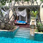 day bed pool room