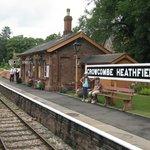 Crowcombe Heathfield up platform
