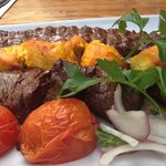 mixed grill - speciality of the house
