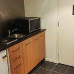 Kitchenette (1 bedroom spa)
