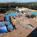 Zona de la piscina / Pool zone