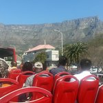 Table Mountain from the Red Bus