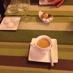 Café et meringues maison