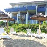 L'albergo lato spiaggia