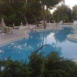 una delle 2 piscine principali