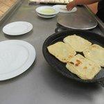 Marokkaanse pannenkoekjes bij ontbijt