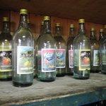 local produced schnaps