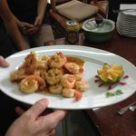 Prawns with Lemongrass and Chili
