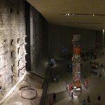 Única coluna que ficou de pé do WTC.