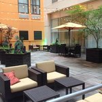 courtyard at the Courtyard with Grill!