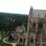 Панорама из окон собора
