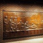 Left pannel of the FDNY memorial - part 1