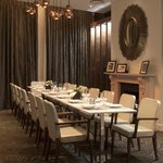 Private dining for up to 16 guests