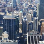 Birdview of high buildings