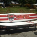 Hooters Bench