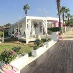 booked sunbeds panorama