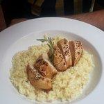 risotto e pollo