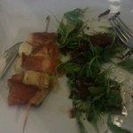 spiedino mozzarella prosciutto e zucchine