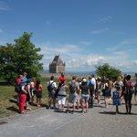 La visite guidée de la Citadelle, notre guide, Francis