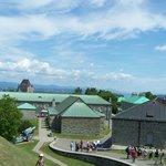 Les bâtiments de la Citadelle, visite guidée