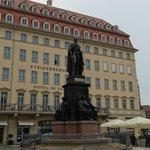 Il Neumarkt a Dresden