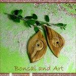 Olivenholzanhaenger handmade