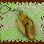 Schluesselanhaenger aus Olivenholz handmade