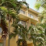 Marriott Grand Cayman...courtyard view.