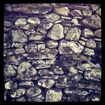 Dry stone wall, a remnant of Britain's Viking heritage