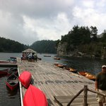 Pristine lake, kayaks, canoes, paddle boats, fishing...