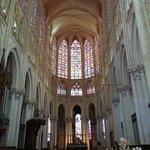 le fond de la cathédrale