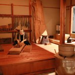 Building Replica to Explain the Birth Rituals in Japan