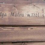 Tavoli a Malga Malera