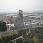 Blick auf die Baustelle des DC1 (2012)
