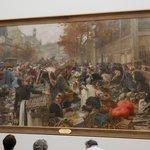 Les Halles, a monumental painting by Leon Lhermitte