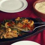 Chicken and Prawn Fajitas