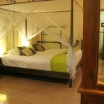 Our deluxe bedroom - extremely comfortable.