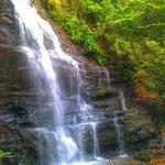 200 foot hike to waterfall