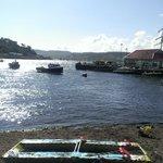 oban harbour 5 mins walk away