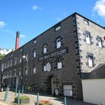 Oban distillery a good 20 minute walk from the hotel