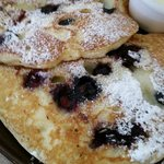 As good as Mom's blueberry muffins. Best blueberry pancakes in PA.