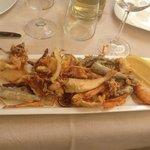 Mixe de fruits de mer