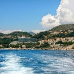 Water taxi to Dubrovnik