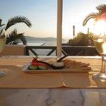 Sunset wine hour