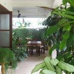 Dining area...