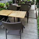 Hotel Side Garden Area