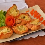 Garlic Bread! It tastes even more delicious than it looks!