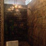 Douche privée extérieure